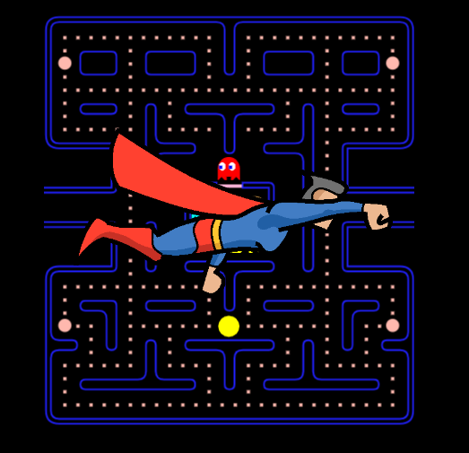 Super Pacman Game